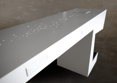 Warmpath-solid surface-table